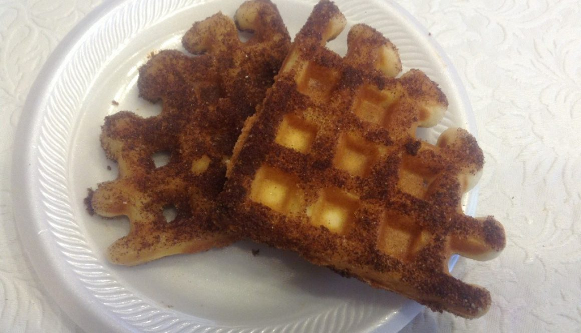 Cinnamon and Sugar Waffles