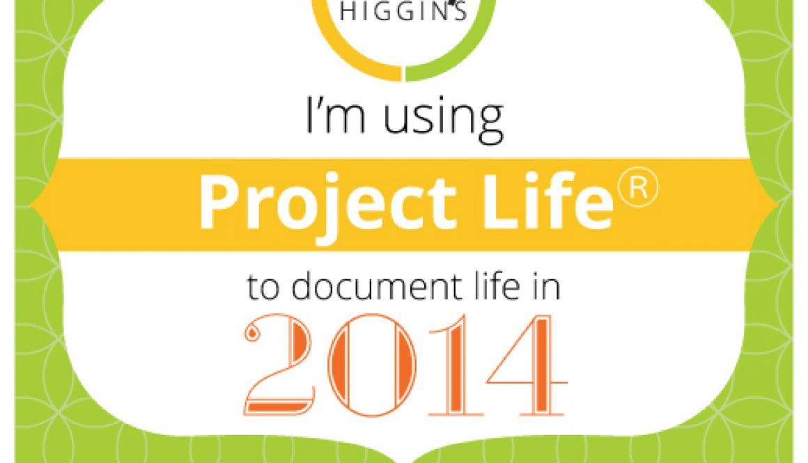 January 2014 Project Life Blog Circle & My Scrapbooking story